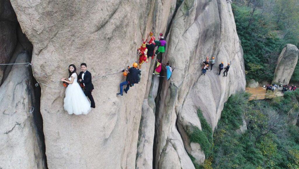 Свадьба в стиле экстрим