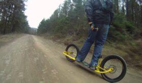 Дёртсёрфинг (Dirtsurfing – скоростной спуск по склону горы на дёртсёрфе)