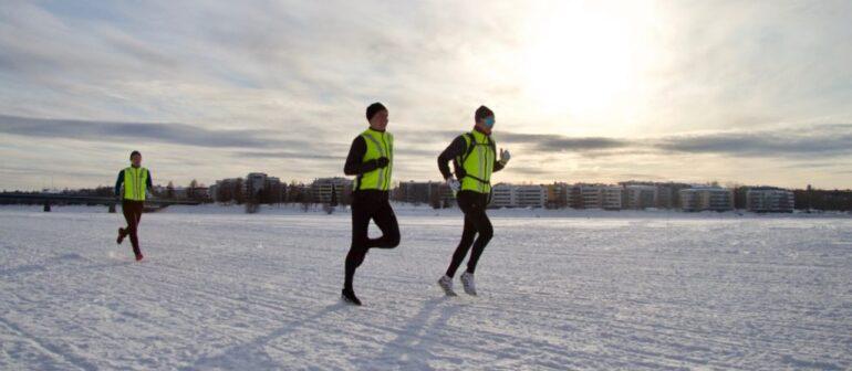 Зимний марафон на озере Байкал (Baikal Ice Marathon)