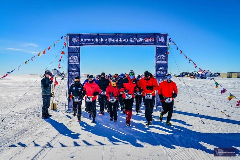 Марафон в ледяной пустыне Антарктиды (antarctic ice marathon)