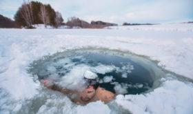 Айсхоул-джампинг – прыжок в ледяную прорубь (ice hole jumping)