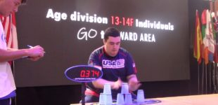 Чемпионат по капстекингу (cup stacking)
