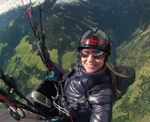 Ева Вишнерска – самая удачливая парапланеристка в мире