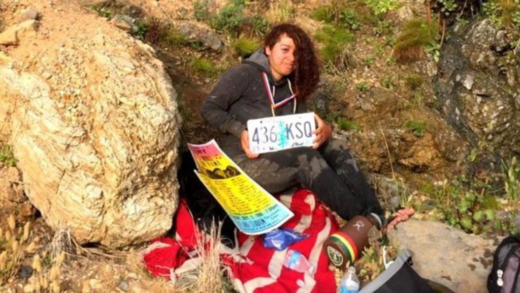 Анжела Эрнандес (Angela Hernandez): падение с 60-метровой скалы