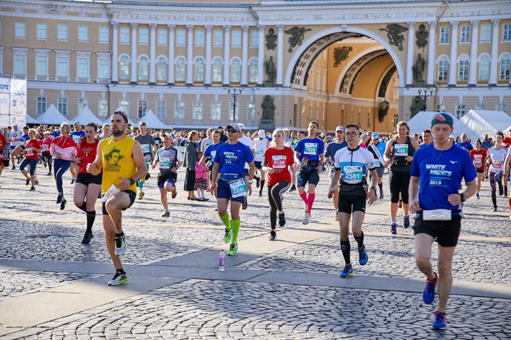 """Международный марафон по бегу – """"Белые ночи"""""""